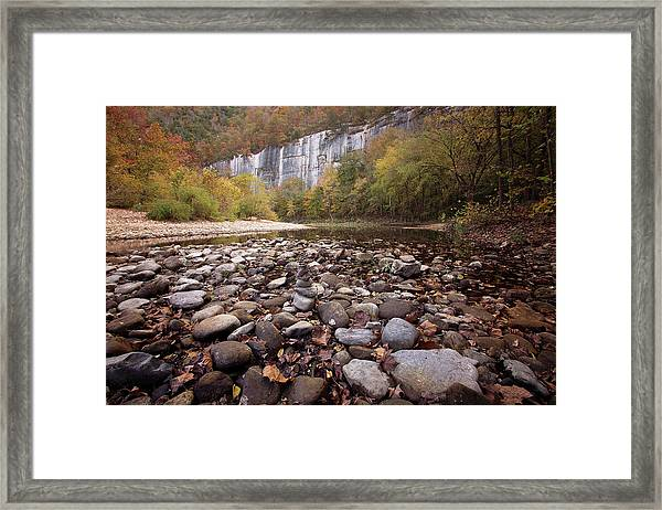 Leave No Trace Framed Print