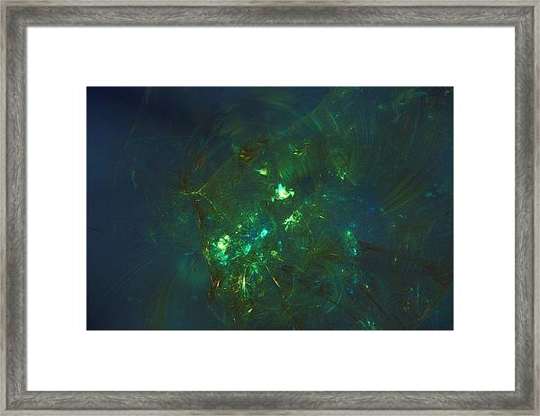Leave The Past Behind Framed Print
