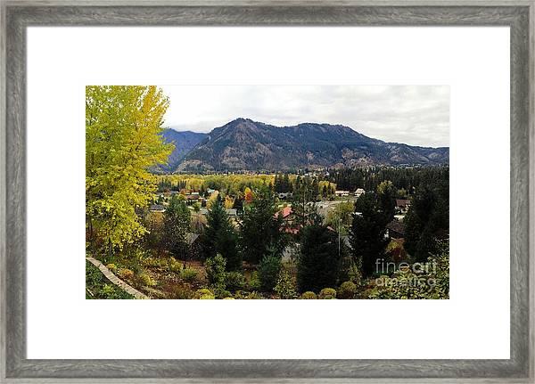 Leavenworth, Wa Framed Print