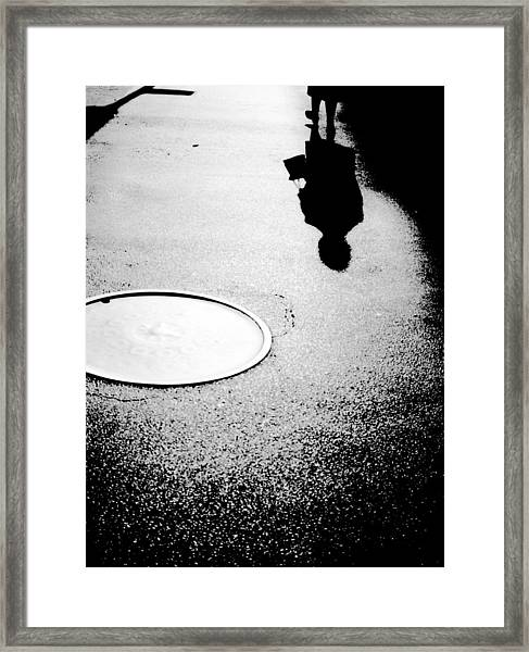 Leaving Framed Print