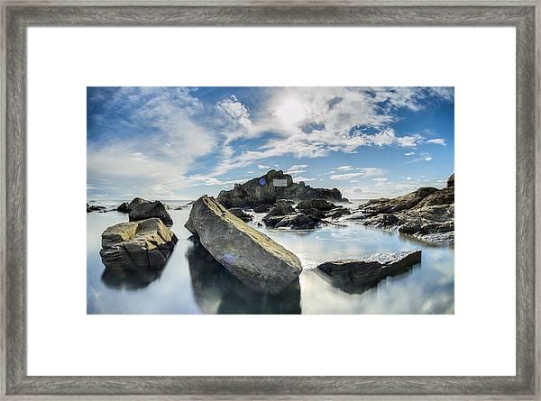 Leca @ Portugal Framed Print