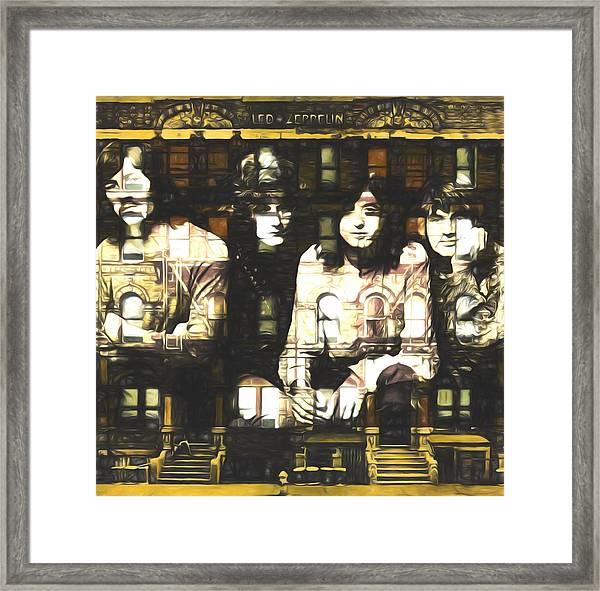 Led Zeppelin Physical Graffiti Framed Print