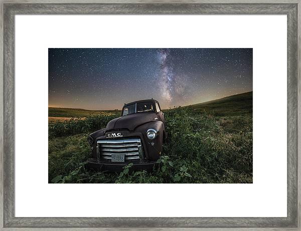 Left To Rust Framed Print