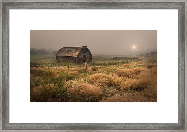Legacy - Haynes Ranch Barn Framed Print