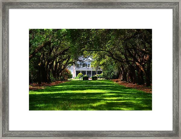 Legare Waring House Charleston Sc Framed Print