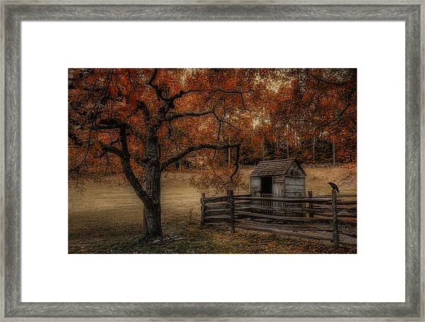 Legend Of The Fall Framed Print