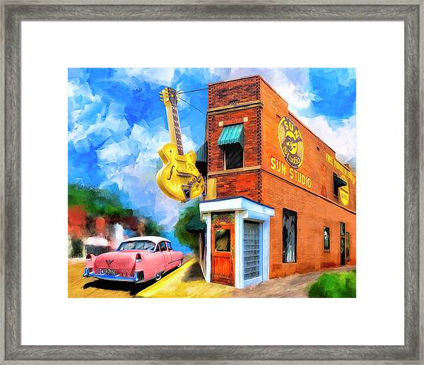 Legendary Sun Studio Framed Print