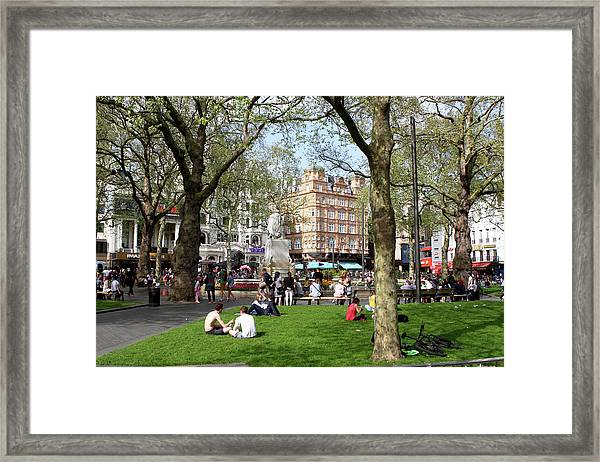 Leicester Square, London  Framed Print