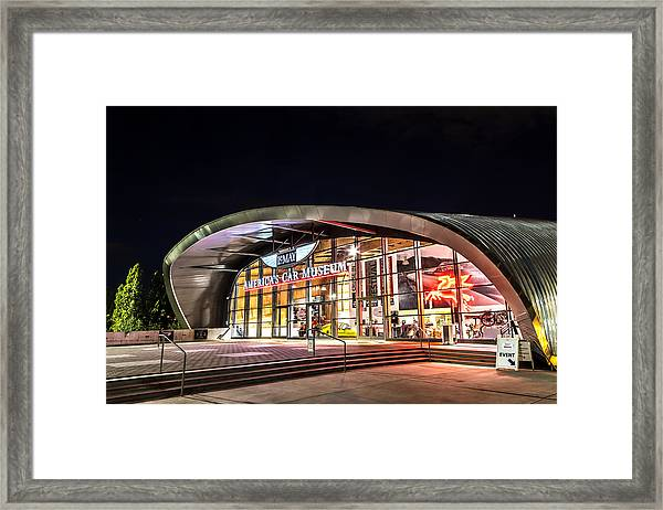 Lemay Car Museum - Night 1 Framed Print