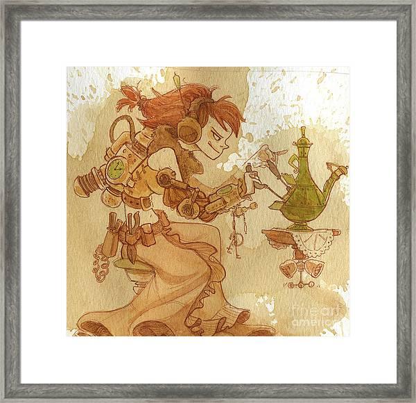 Lemongrass Framed Print