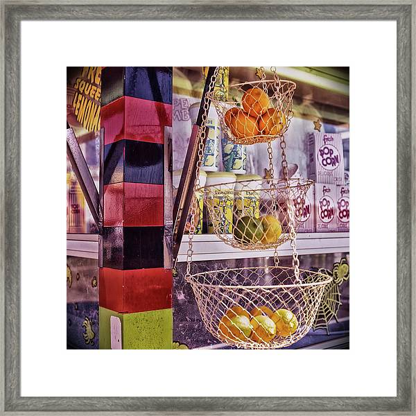 Framed Print featuring the photograph Lemons, Oranges And Limes by Samuel M Purvis III