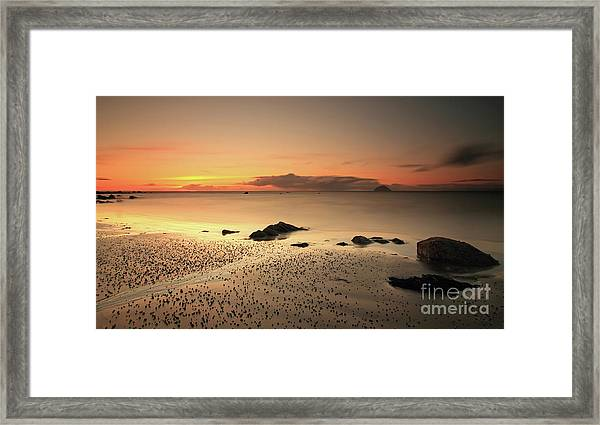 Lendalfoot Sunset Ref8962 Framed Print