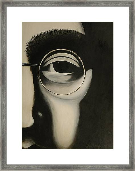 Lennon's Left Eye Framed Print