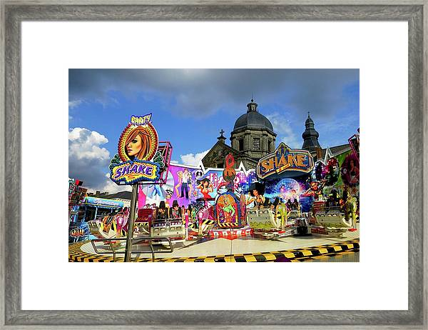 Lenten Carnival Framed Print