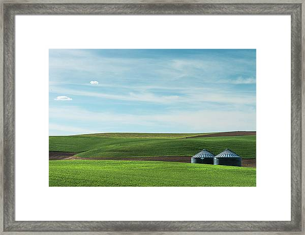 Less Is More. Framed Print