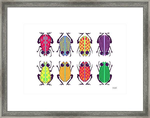 Less-than-creepy Crawlies Framed Print