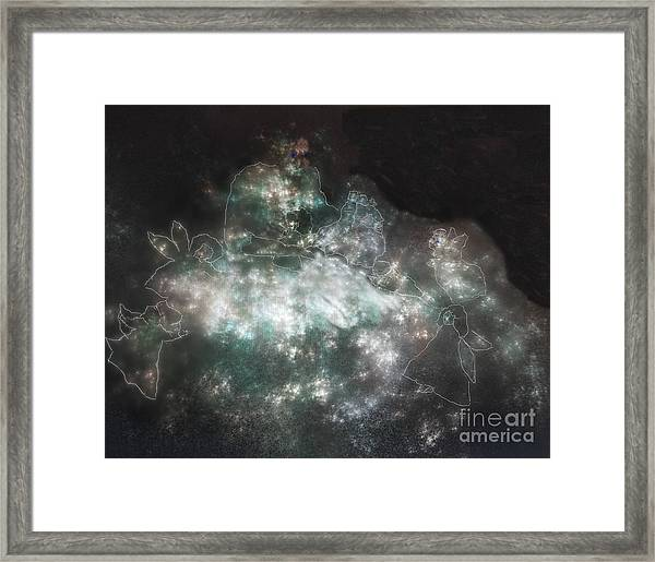 Let The Little Children Come Unto Me Framed Print