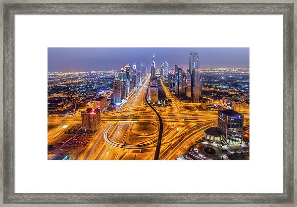 Let There Be More Light Framed Print