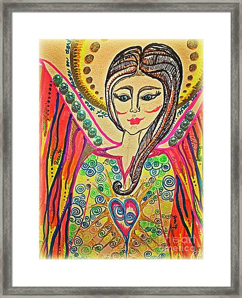 Let There Be Peace On Earth  Framed Print