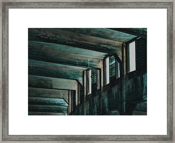 Letting In The Light Framed Print