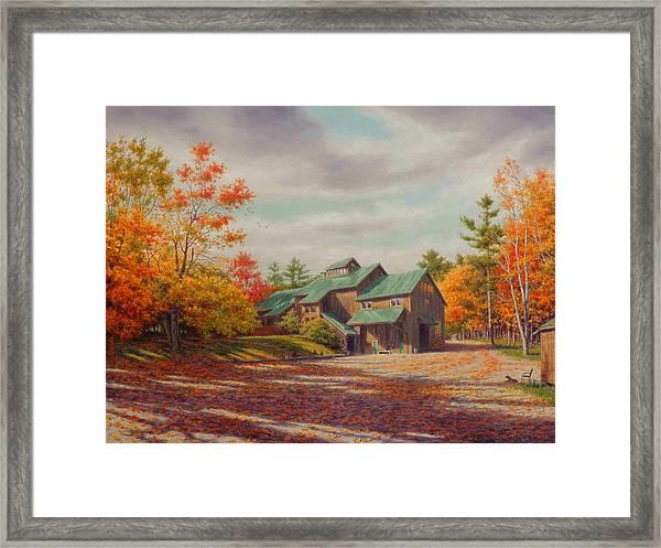 Levon Helm Studios Legendary Ramble Barn Framed Print