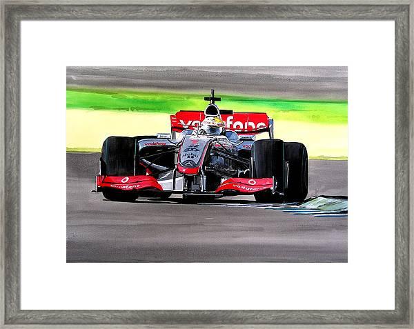 Lewis Framed Print by Steve Jones