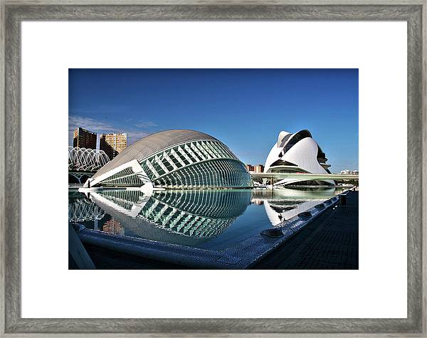 Valencia, Spain - City Of Arts And Sciences Framed Print
