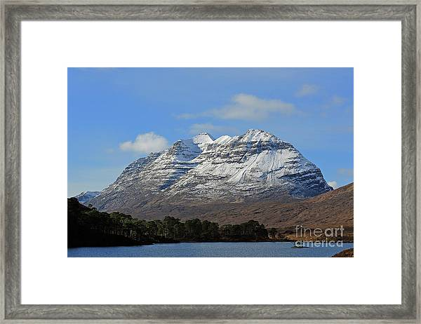 Liatach And Loch Clair Framed Print