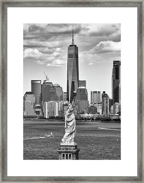 Liberty And Freedom 2 Framed Print