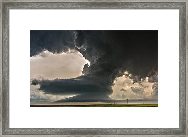 Liberty Bell Supercell Framed Print