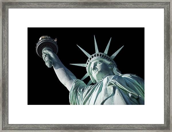 Liberty II Framed Print
