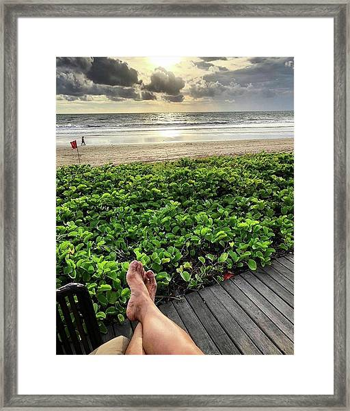 Life Does Not Come With Instructions On Framed Print by Arya Swadharma
