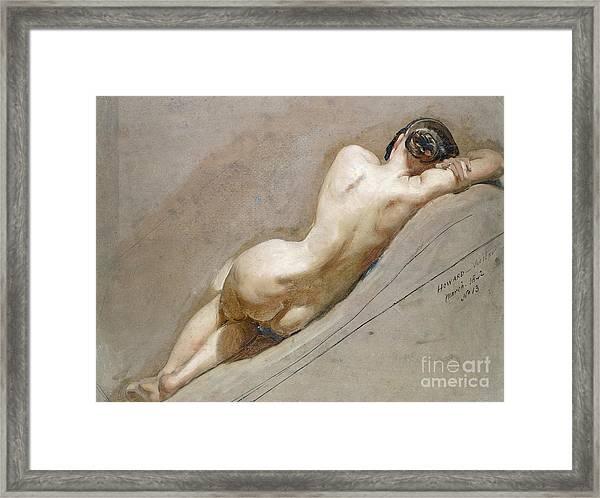 Life Study Of The Female Figure Framed Print