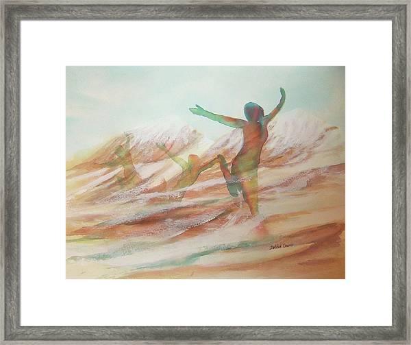 Life Transcendent Framed Print