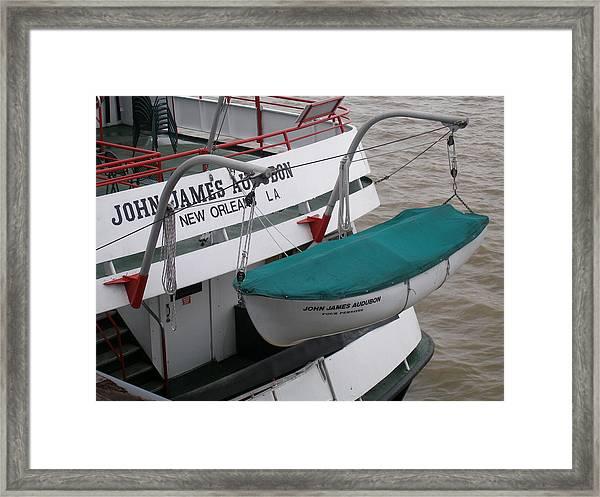 Lifeboat Framed Print by Jack Herrington