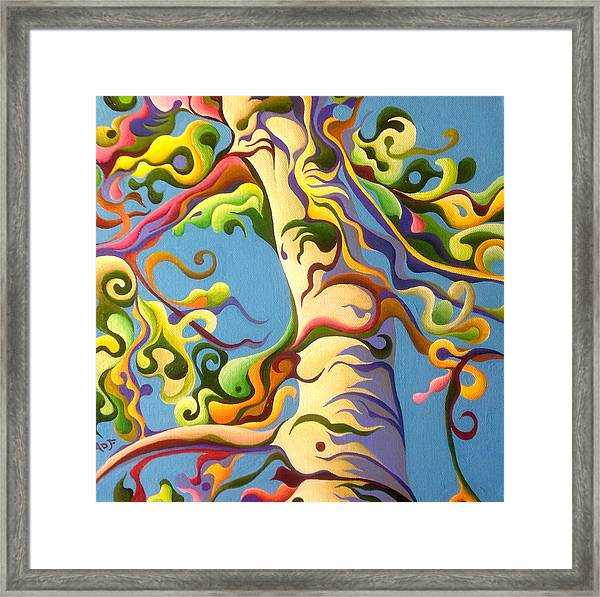 Life's A Birch Framed Print