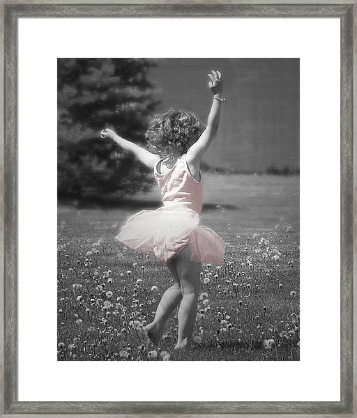 Life's A Dance Framed Print