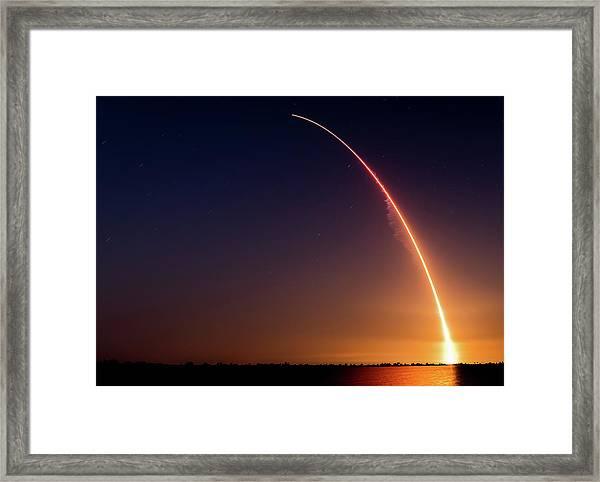 Liftoff Framed Print