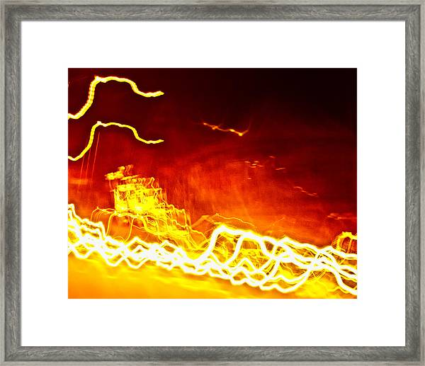 Light 1 Framed Print