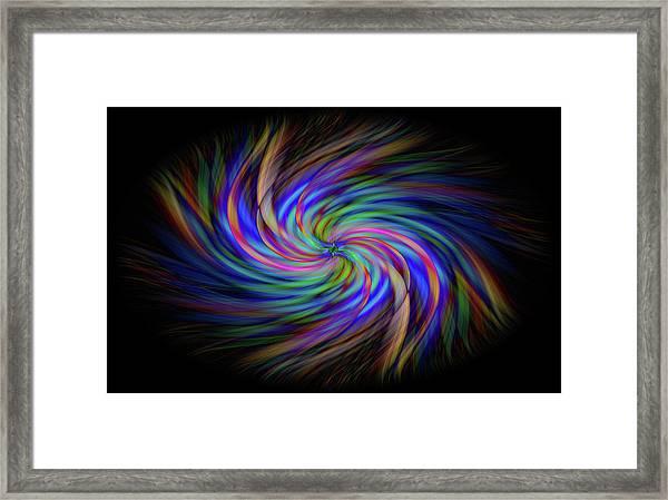 Light Abstract 2 Framed Print