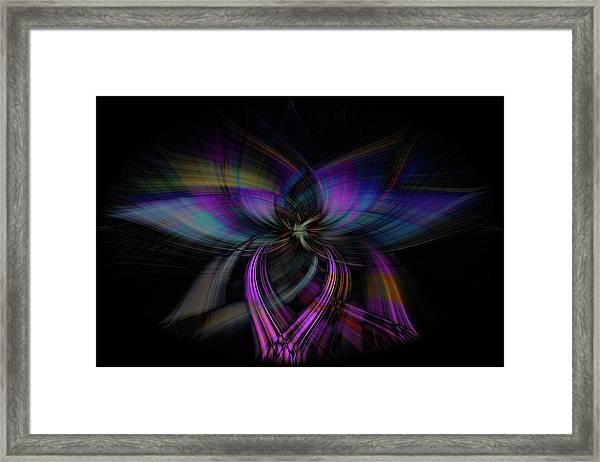 Light Abstract 4 Framed Print