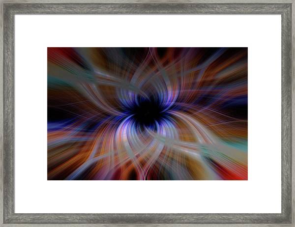 Light Abstract 5 Framed Print