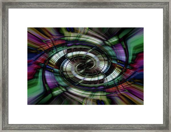 Light Abstract 6 Framed Print
