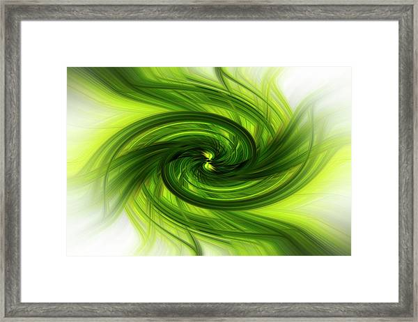 Light Abstract 8 Framed Print