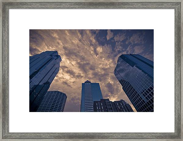 Light And Glass Framed Print