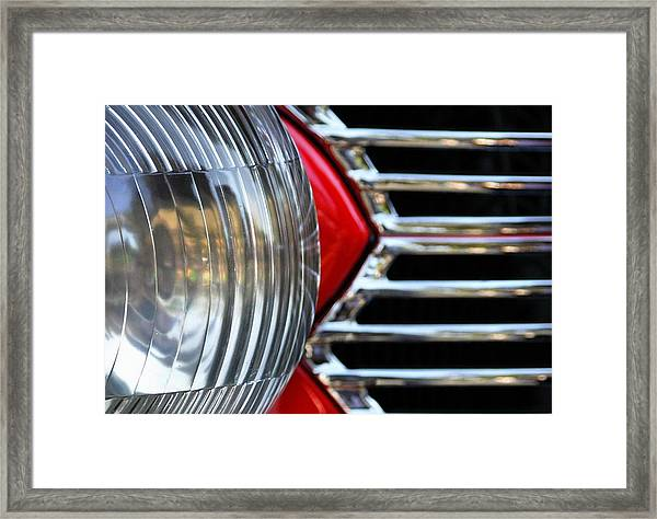 Light And Grill Framed Print
