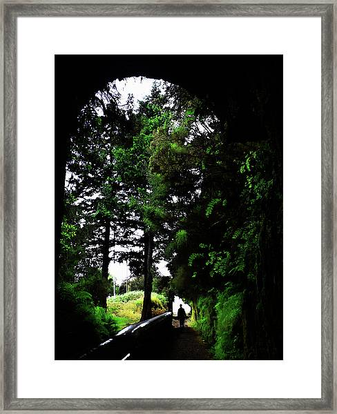 Light At The Last Framed Print