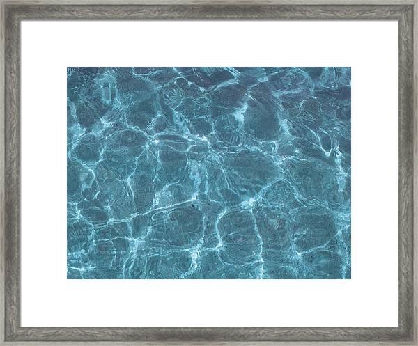 Glistening Framed Print