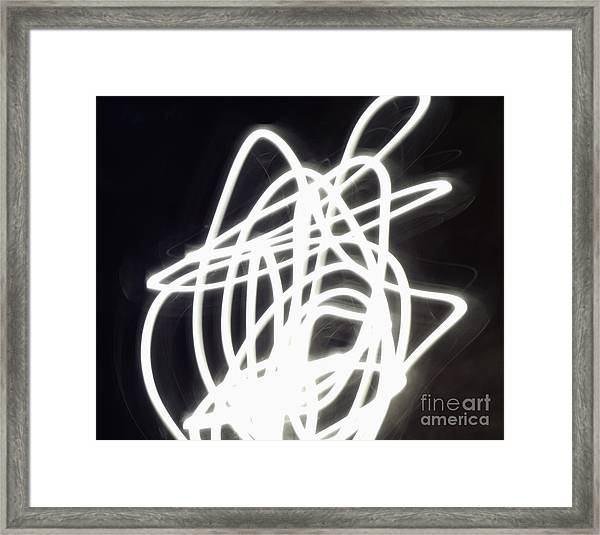 Light Dancer Framed Print