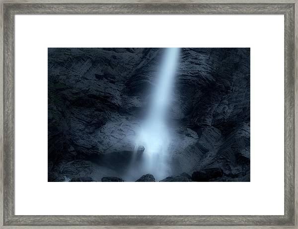 Light Fallen From The Sky Framed Print